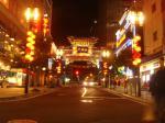 平日の中華街入り口